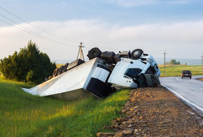 Truck Accident Fall